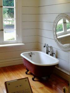 お洒落な浴室です
