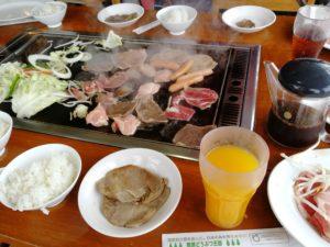 肉・野菜・ドリンクセット完了